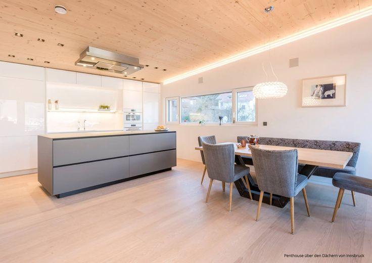 7 Spannende Ideen Für Die Moderne Wohnküche. Inspiration Liefern Spannende  Farbkonzepte, Materialien Und Unerwartete