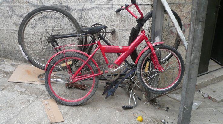 Das Fahrrad. Stefanies in Hebron