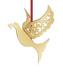 Georg Jensen 3D Gold Dove Ornament