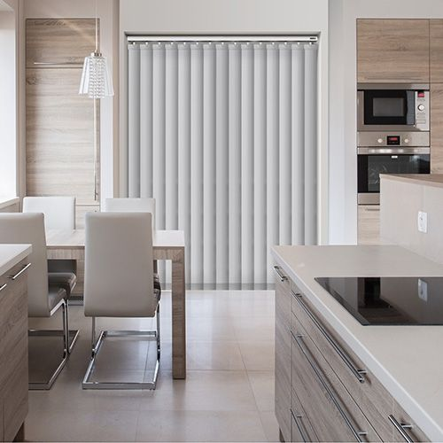 LISO SNOW 240V RTS REMOTE CONTROL ELECTRIC VERTICAL BLINDS.  #Shades #Home #HomeDecor #InteriorDesign #Decor #RollerBlinds  #CreateYourHome #BudgetBlinds #WindowShades #Window  #Design #Blind #WindowCoverings #Windows #MadeinUK