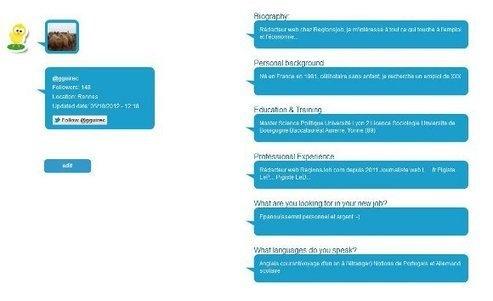 Créez et diffusez votre CV sur Twitter avec TwiCVer - Mode(s) d'emploi, toute l'actualité du recrutement