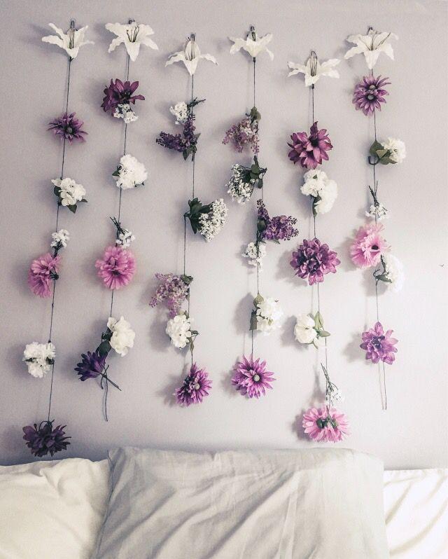 Flower Wall Flower Room Decor Flower Wall Flower Wall Decor