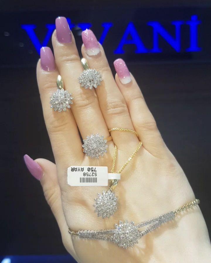 Dunyanin Butun Sergilerinden Getirilmis Qizil Briliyant Zinet Esyalari Vivani Jewellery De Bizi Jewelry Earrings Diamond Earrings