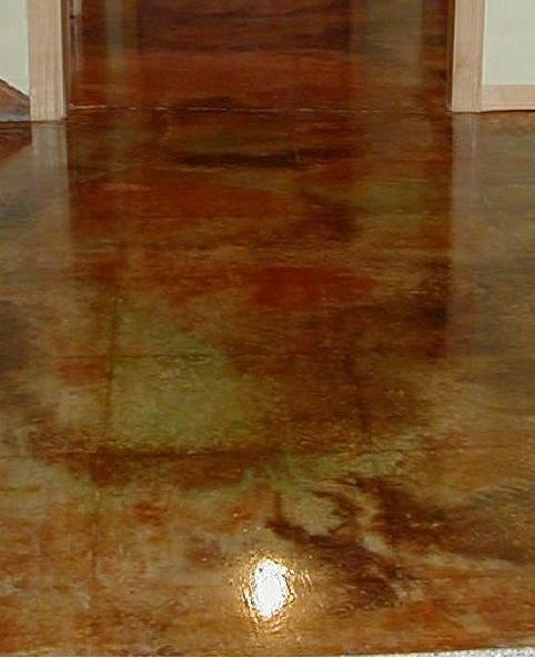 53 Best Stained Concrete Images On Pinterest