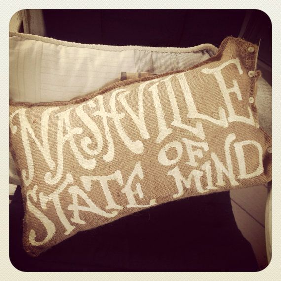 Nashville State of Mind. Etsy.