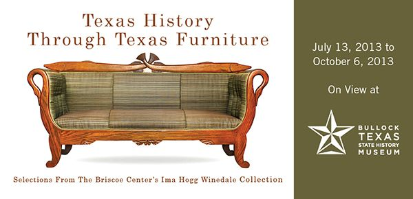 Good Texas Furniture From The Ima Hogg Winedale Collection