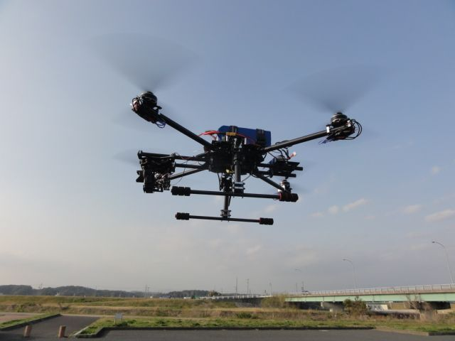 My friend''s multicopter is flying now for me.