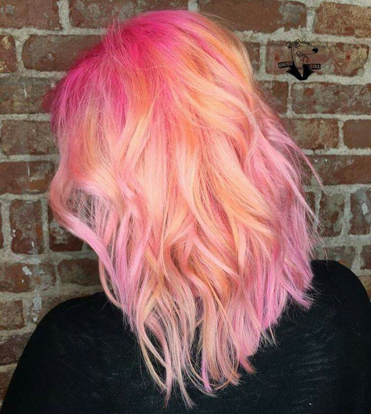 Light Pink Hair Tips