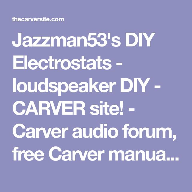 Best 25+ Carver amplifier ideas on Pinterest Audiophile, High - p & l form
