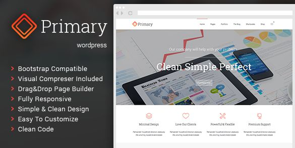 Themeforest WordPress: Primary – Business WordPress Theme on THEMEFOREST FREE DOWNLOAD http://themeforestfreedownload.com