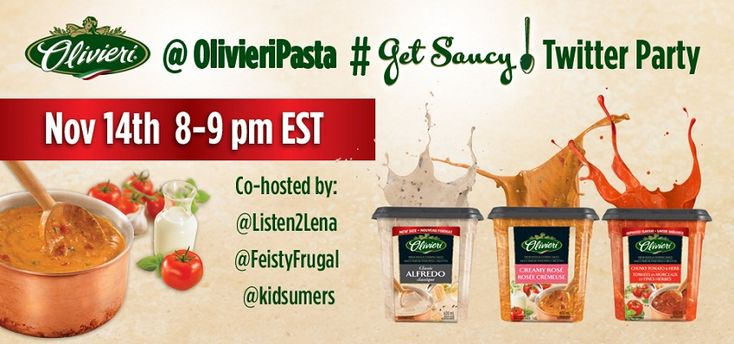 Hey #Canada, Join us to #GetSaucy on November 14th at 8pm and enter to WIN over $1,500 in prizes! RSVP today!!