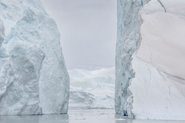 Greenland | Lawrence Hislop Photography. Ice columns in Ilulissat icefjord, Greenland.