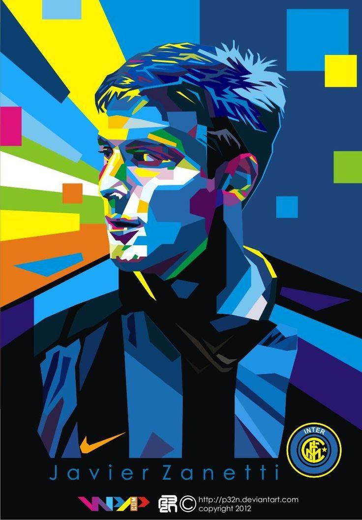 Javier Zanetti on WPAP by p32n