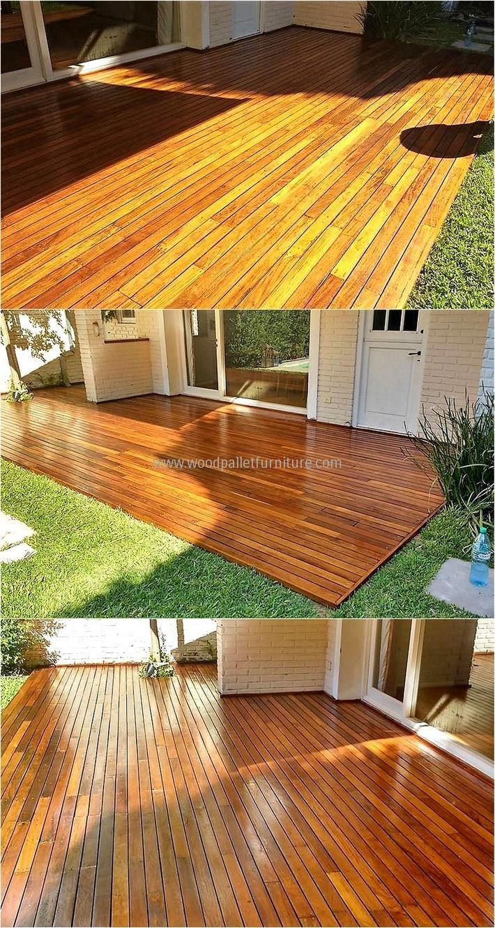 745 best Pallet Flooring images on Pinterest | Pallet wood ...