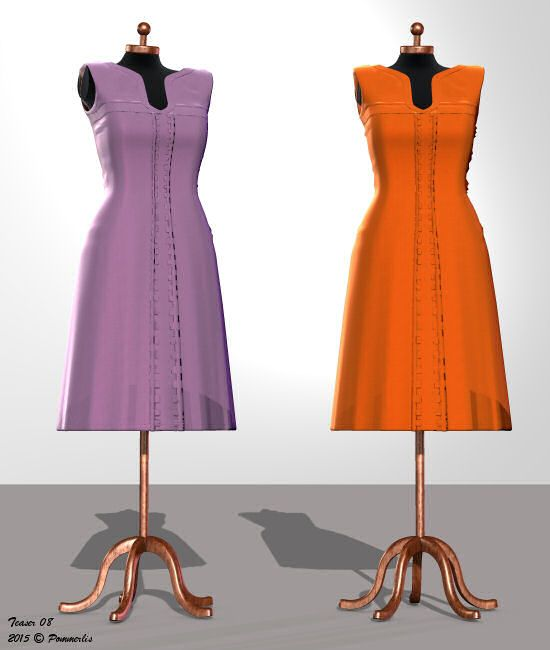 Working on textures for Dawn's Farmwifedress. Plains
