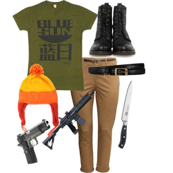 Jayne Cobb Cosplay by fallonskywalker on Polyvore featuring polyvore, fashion, style, H&M, Frye, STELLA McCARTNEY and Victorinox Swiss Army