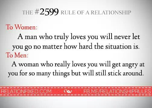 A Man Who Really Loves You Does Say It Many Times. A Woman