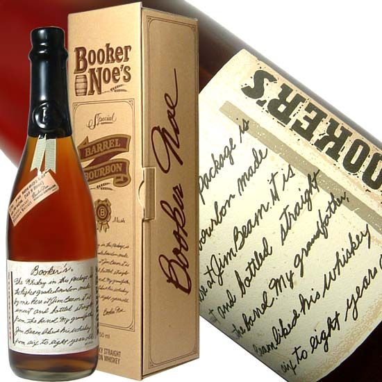 No this isn't a bottle of wine. This, in my opinion, one of the best bourbon's around. That is if you can handle the heat at 127 proof and the price tag of around $50. Uncut, unfiltered, and straight from the barrel at the Jim Beam distillery. Bookers Bourbon.