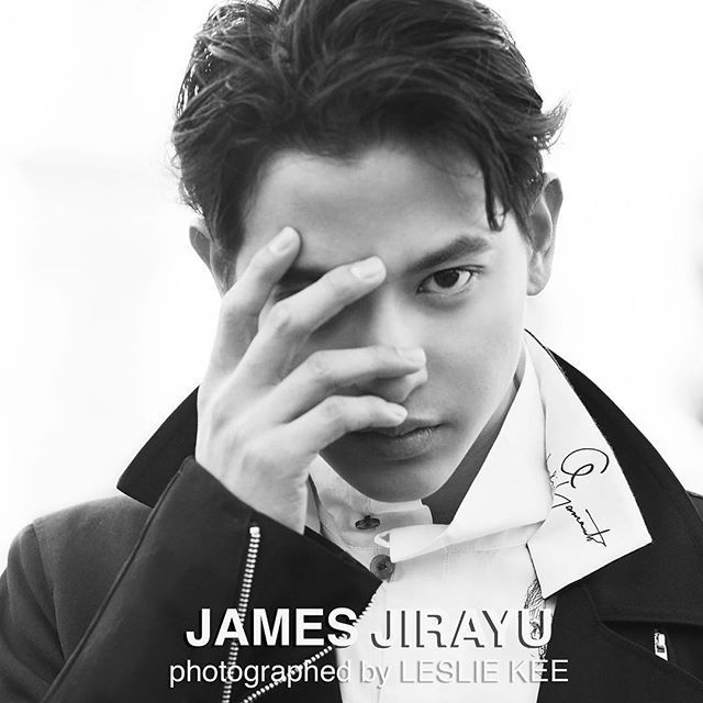JAMES JIRAYU wearing 2016SS collection of YOHJI YAMAMOTOphotographed by LESLIE KEE for L'OPT...