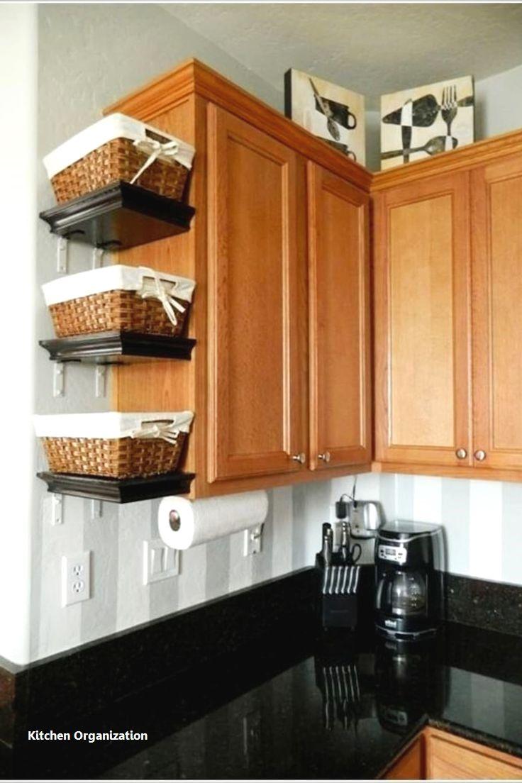 15 Creative Diy Storage And Organization Ideas For Small Kitchens 2 Clever Kitchen Storage Diy Kitchen Renovation Small Kitchen Storage