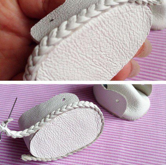 Обувь для куклы.