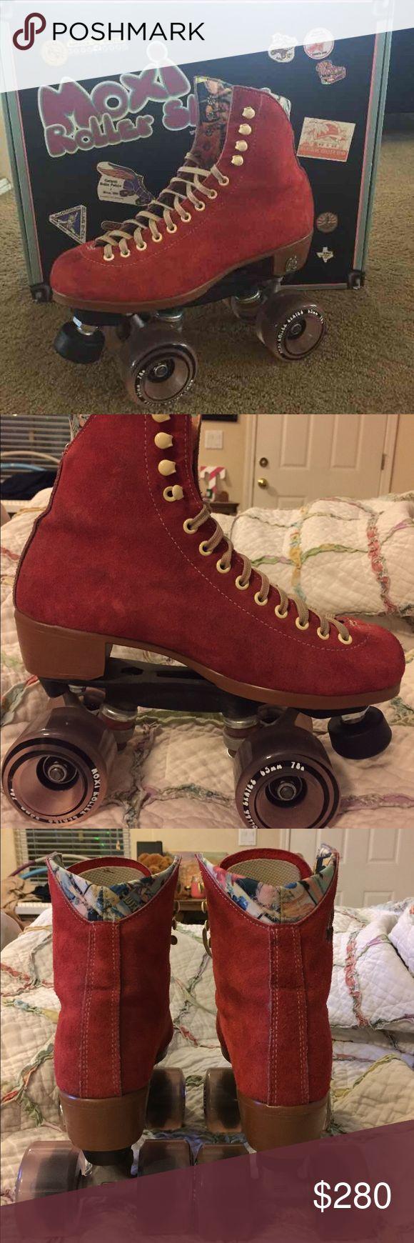 Zumiez roller skates - Moxi Roller Skates Paypal Only Red Poppy Moxi Roller Skates Mens Size 6