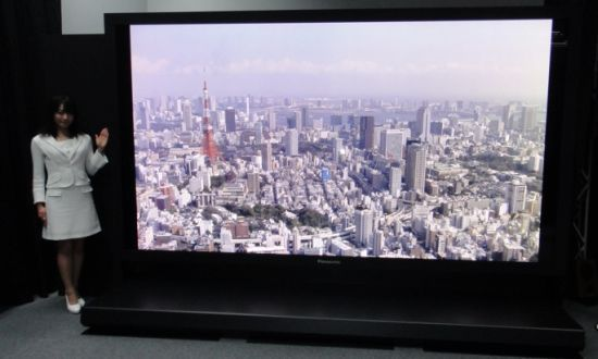 Panasonic's 145-inch 8K Resolution Plasma TV...a must have!!
