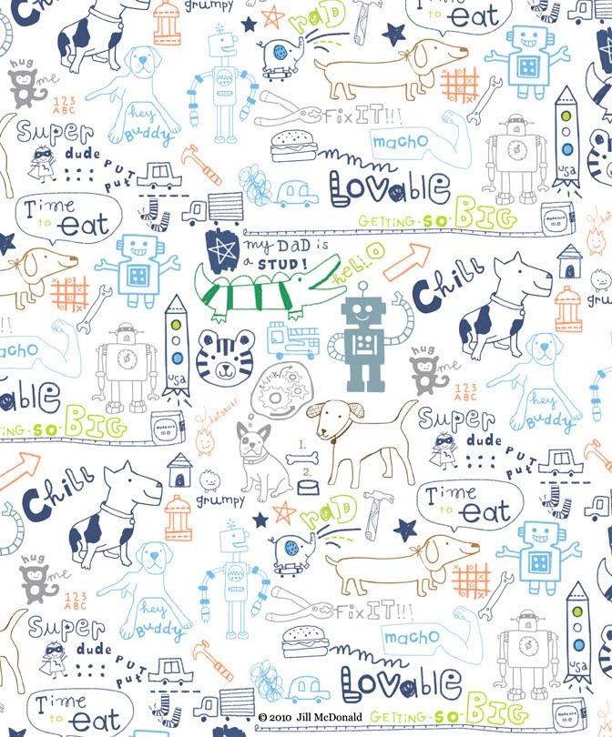 doodles - jill mcdonald
