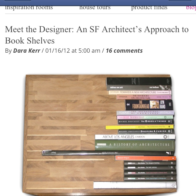 Book table made out of books! http://m.refinery29.com/lisa-finster-book-table