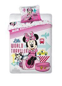 Minnie Mouse, Komplet pościeli, 160x200 cm-Faro