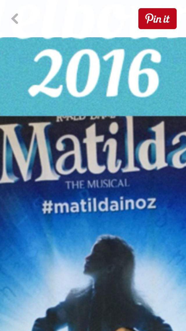 Matilda the musical. A MUST SEE IT IS AMAZING!!!!