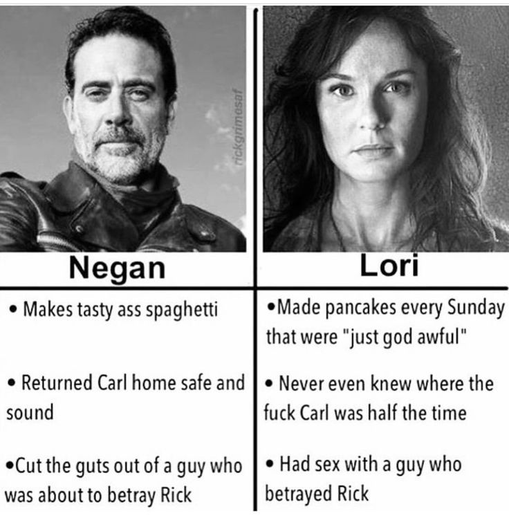Even the most evil guy in the damn show is better than Lori Ha suck it!
