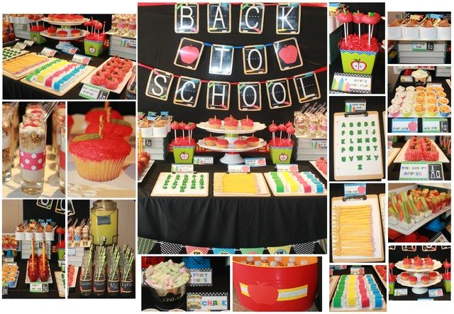 """for 2013 - lots of great themed food ideas - Photo 1 of 33: Back to School """"Back to School Bash"""" 