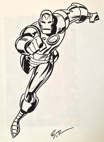 Classic Iron Man by Bruce Timm
