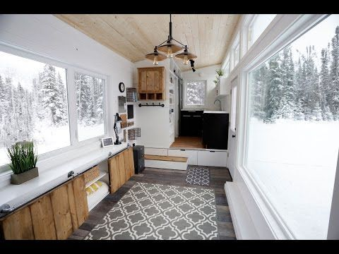 Video:Tiny House - Rustic Modern Open Concept Dream Home with Elevator Bed | Easy DIY Projects from Ana White