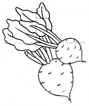 Fruits And Vegetables Coloring Page 56 Is A From Fruit BookLet Your Children Express Their Imagination When They Color The