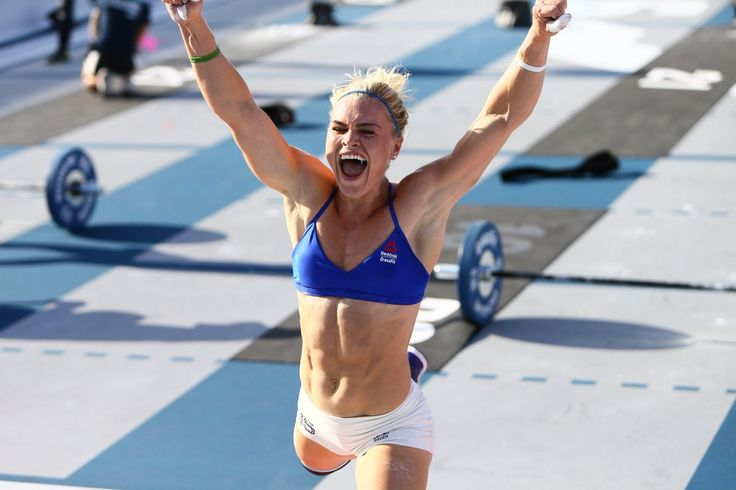 """This is where the magic happens!""  Katrín Davíðsdóttir - via The CrossFit Games (@CrossFitGames) 