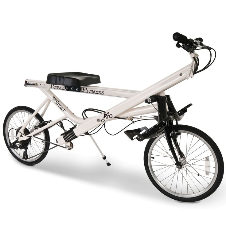 The Rowbike - Hammacher Schlemmer - This is the exercise apparatus that combines the full-body workout of rowing with the exhilarating ride of a recumbent bicycle.