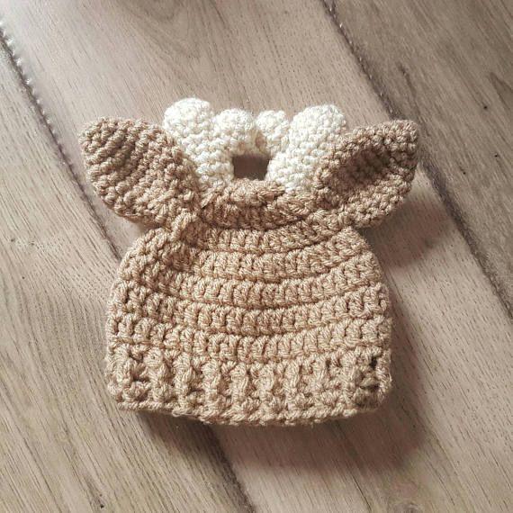 Newborn Deer Hat Ready to Ship Baby Gift Baby Shower