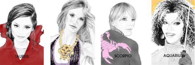 The Grand Cardinal Cross, Decoded - AstroTwins April Horoscope - ELLE