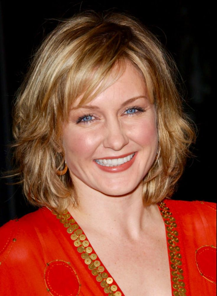Amy Carlson ~ love her hairstyles.