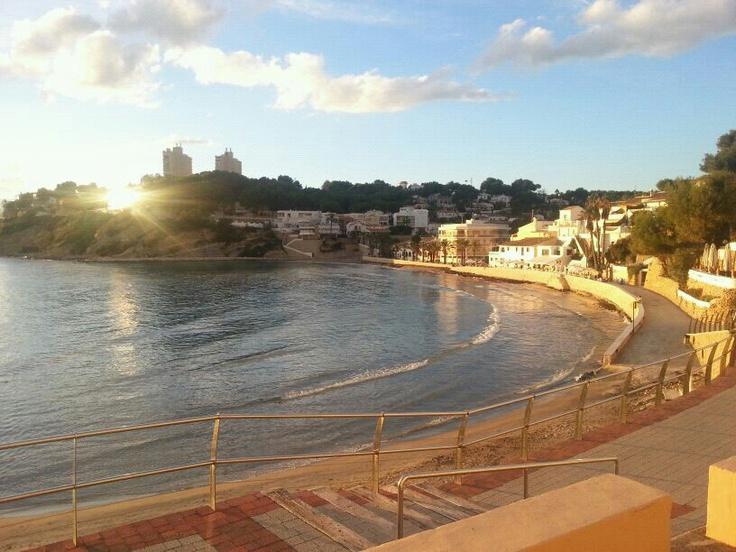Playa de El Portet, Moraira