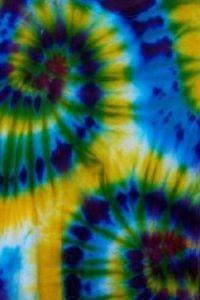 Batikovanie - farbenie textilu | Výtvarné umenie