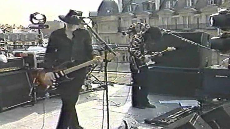 The Smashing Pumpkins - BLANK PAGE (Live HD Paris with lyrics/letra)