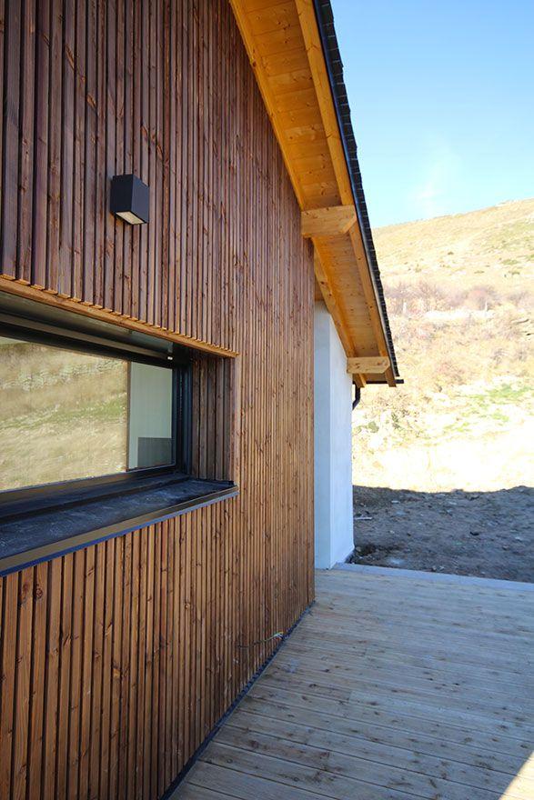 1000 id es sur le th me bardage bois sur pinterest for Bardage de facade maison
