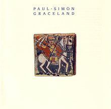 "GRACELAND by PAUL SIMON. After the minimally successful predecessors One-Trick Pony and Hearts & Bones comes an award-winning, worldwide blockbuster mixing pop, folk and African music. While highlighted by ""The Boy in the Bubble,"" ""Diamonds on the Souls of Her Shoes,"" and the title track, ""You Can Call Me Al"" and its video featuring Chevy Chase remains a longtime favorite."