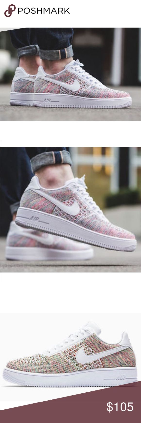 Nike Air Force 1 Ultra Flyknit Shoes Nike Air Force 1 Ultra Flyknit Shoes Yellowstrike 817419 701.     New with box Size 11 Nike AF1 Shoes Sneakers