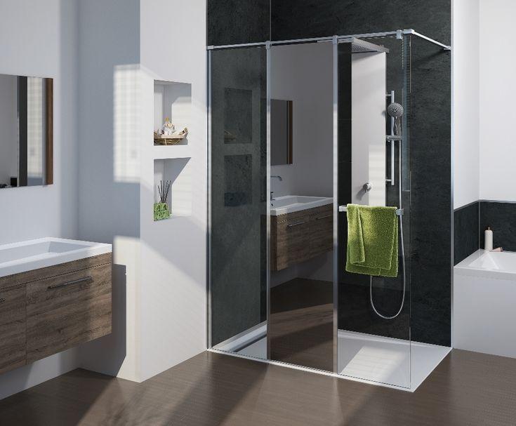 50 beste afbeeldingen over inloopdouches douchewanden op pinterest architectuur gepolijst - Vervoeren van een trappenhuis ...
