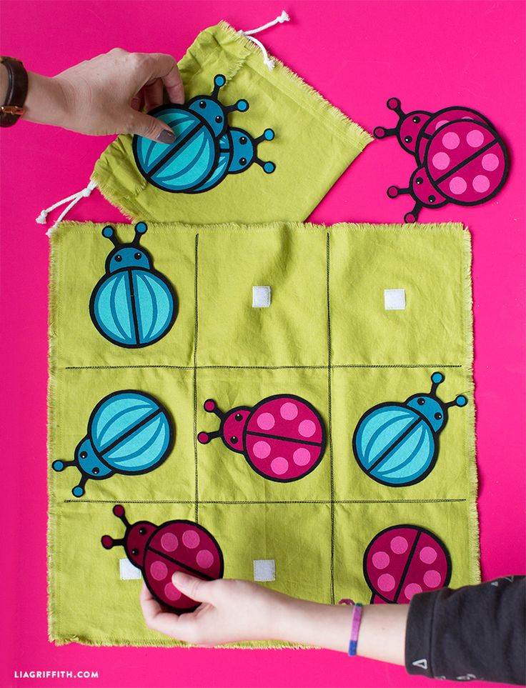 DIY #kidsgames pattern at www.LiaGriffith.com: