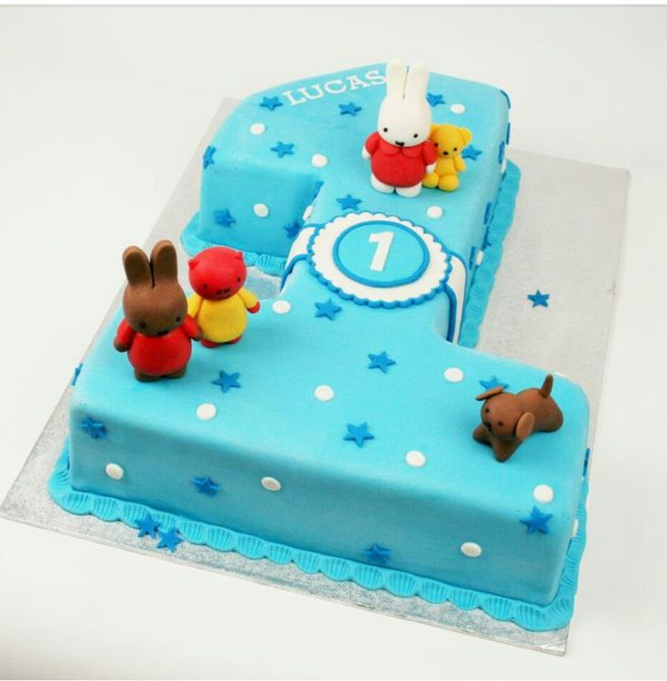 Nijntje taart 1 jaar